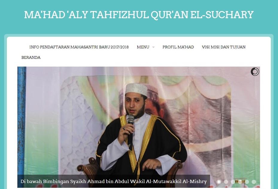 Mahad Aly El-Suchary Sambas