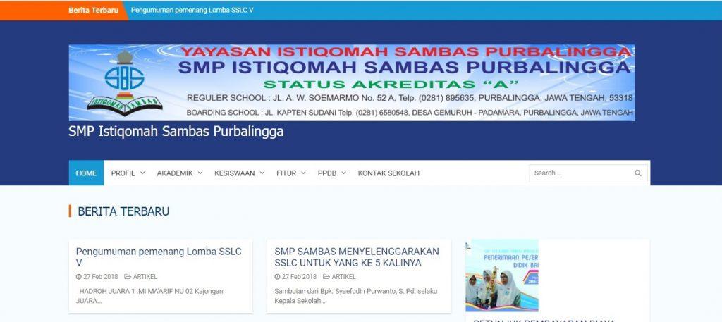 SMP Istiqomah Sambas
